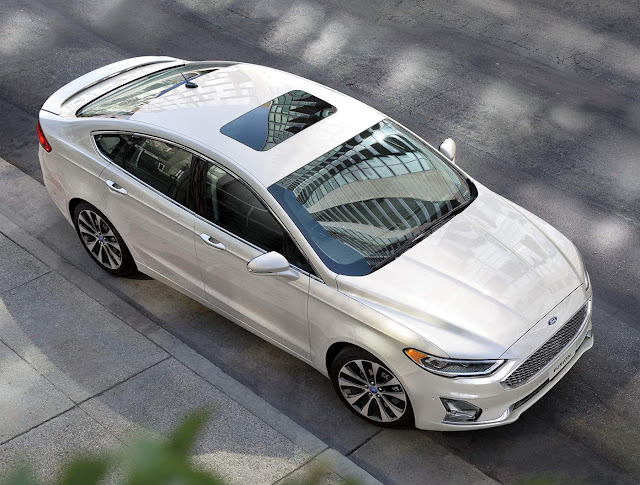 Novo Ford Fusion 2019 - Brasil - Branco