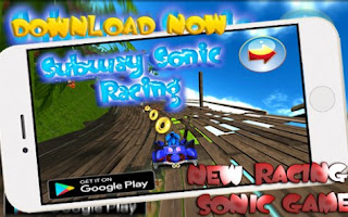 Sonic Games Racing Car