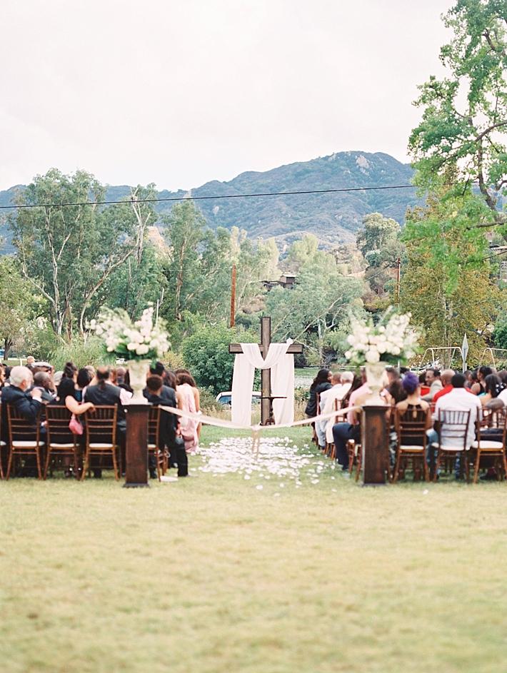 Romantic Garden Wedding at Malibou Lake Mountain Club | Southern ...