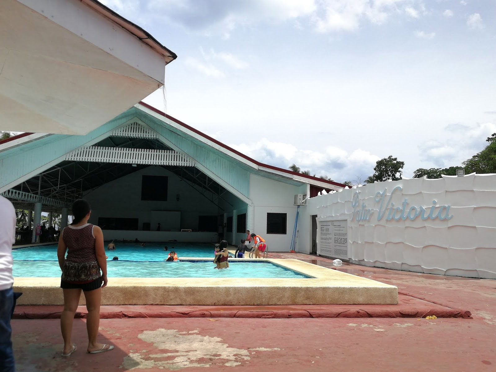Little pinay explorer for Swimming pool in tacloban city