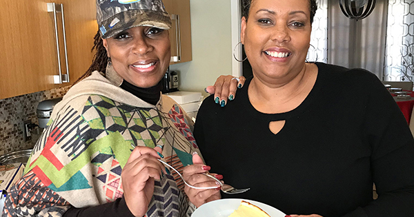 Nikki Howard and Jaqi Wright, founders of The Furlough Cheesecake