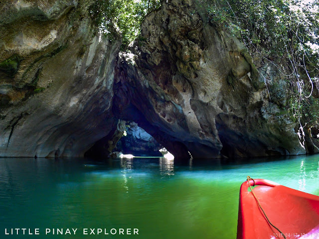 natural bridge, kayaking, basey samar, rock formations, river, sohoton cave