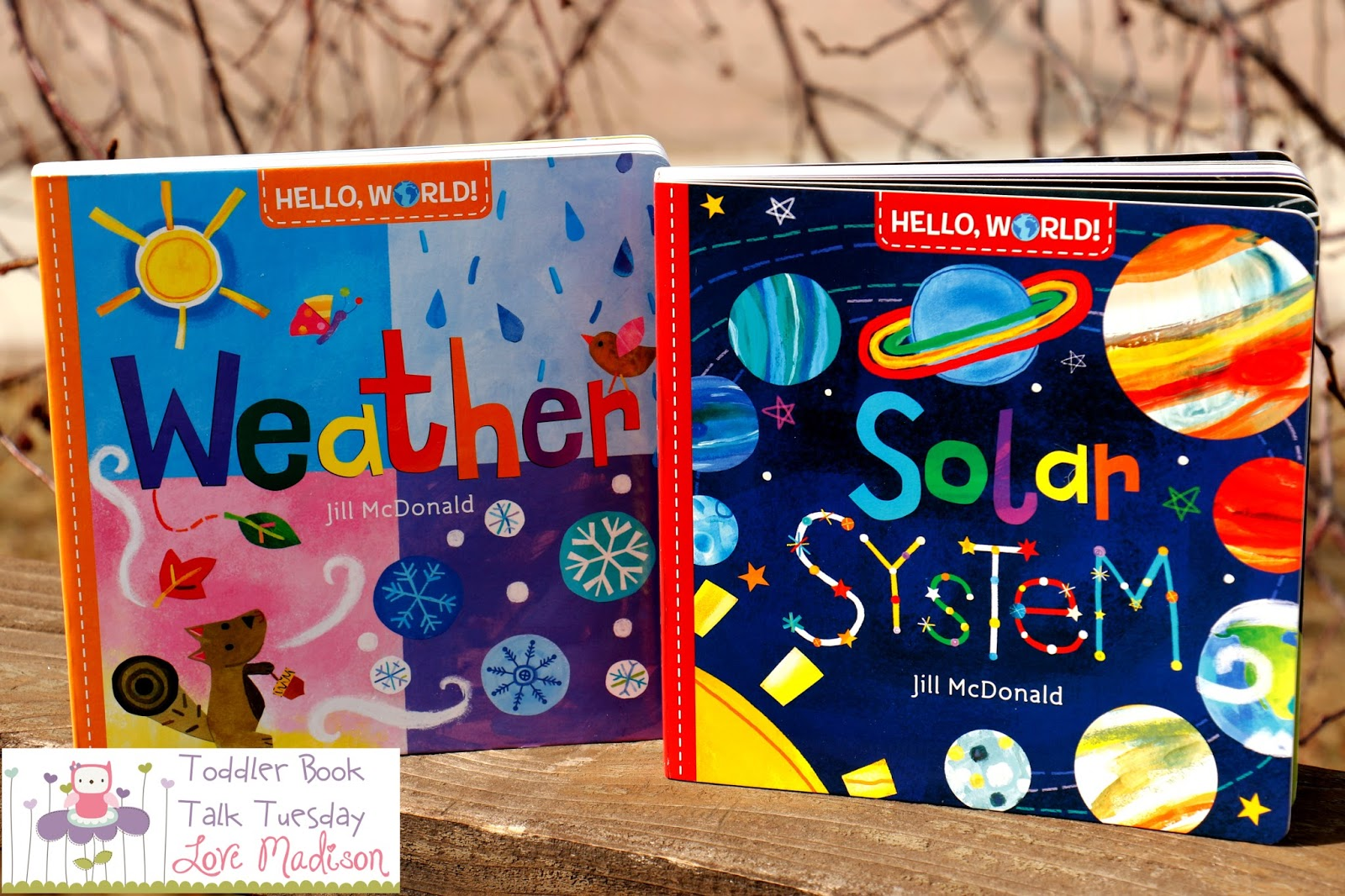 Hello, World: Weather and Solar System by Jill McDonald