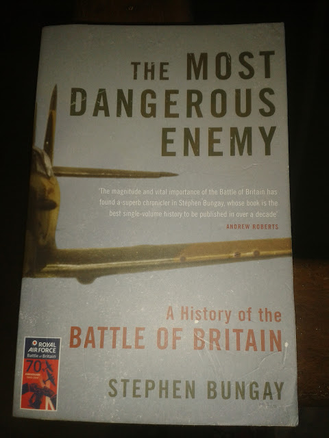 Marts Book Corner - The Most Dangerous Enemy: A History of the Battle of Britan by Stephen Bungay