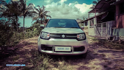Suzuki Ignis menjelajah desa