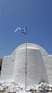 Reise, Reise: Rhodos - Griechische Fahne/ Flagge