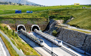 The Guadarrama Tunnel, Spain