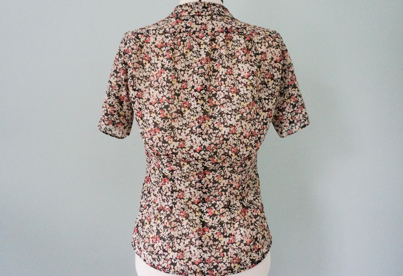 Amelie Tuck Blouse by Til The Sun Goes Down back view