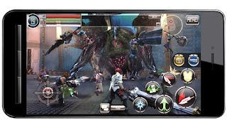 God eater telah dirilis di android dalam versi Beta