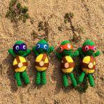 patron gratis tortugas ninja amigurumi | ninja turtle amigurumi free pattern