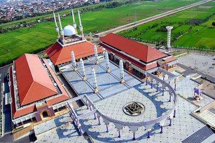 Wisata Masjid Agung Jawa Tengah (MAJT) Semarang