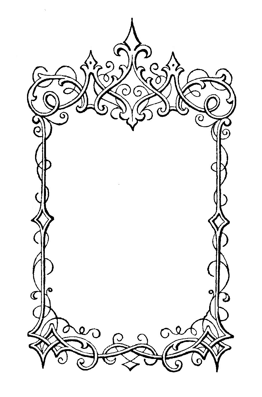 The Sum Of All Crafts: Elegant Frames