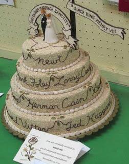 gambar kue pengantin tambah tulisan tangan