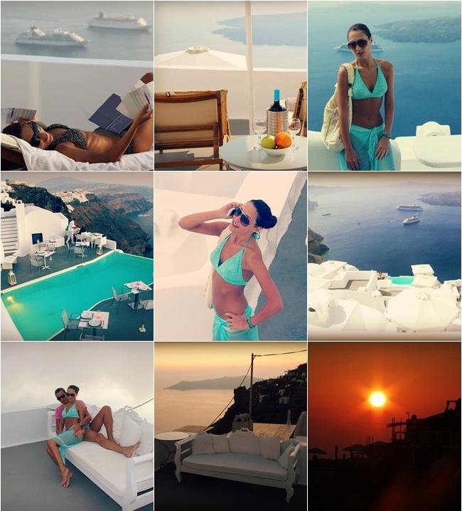 Santorini vacation photos 1 day