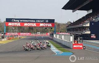 Jadwal MotoGP Thailand 2018 di Sirkuit Buriram