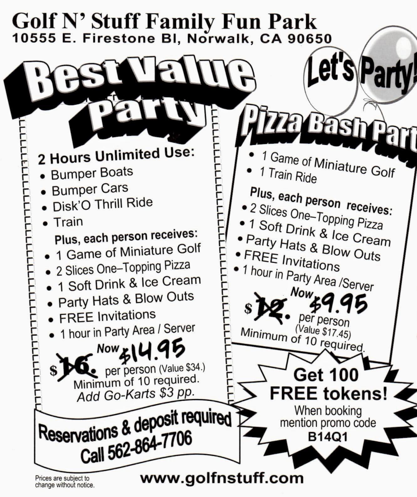 Montebello Mom Kid Birthday Parties