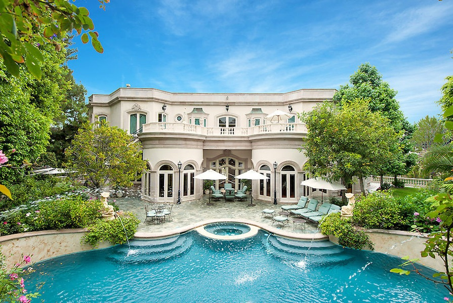 Tour This Magnificent French Baroque Beverly Hills Chateau