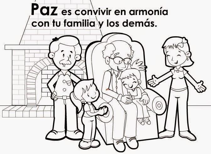 Maestra de Primaria: Los valores. Dibujos para colorear por niños ...