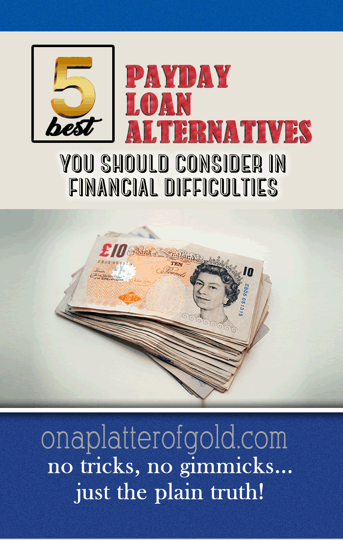 Best Payday Loan Alternatives You Should Consider In Financial Difficulties