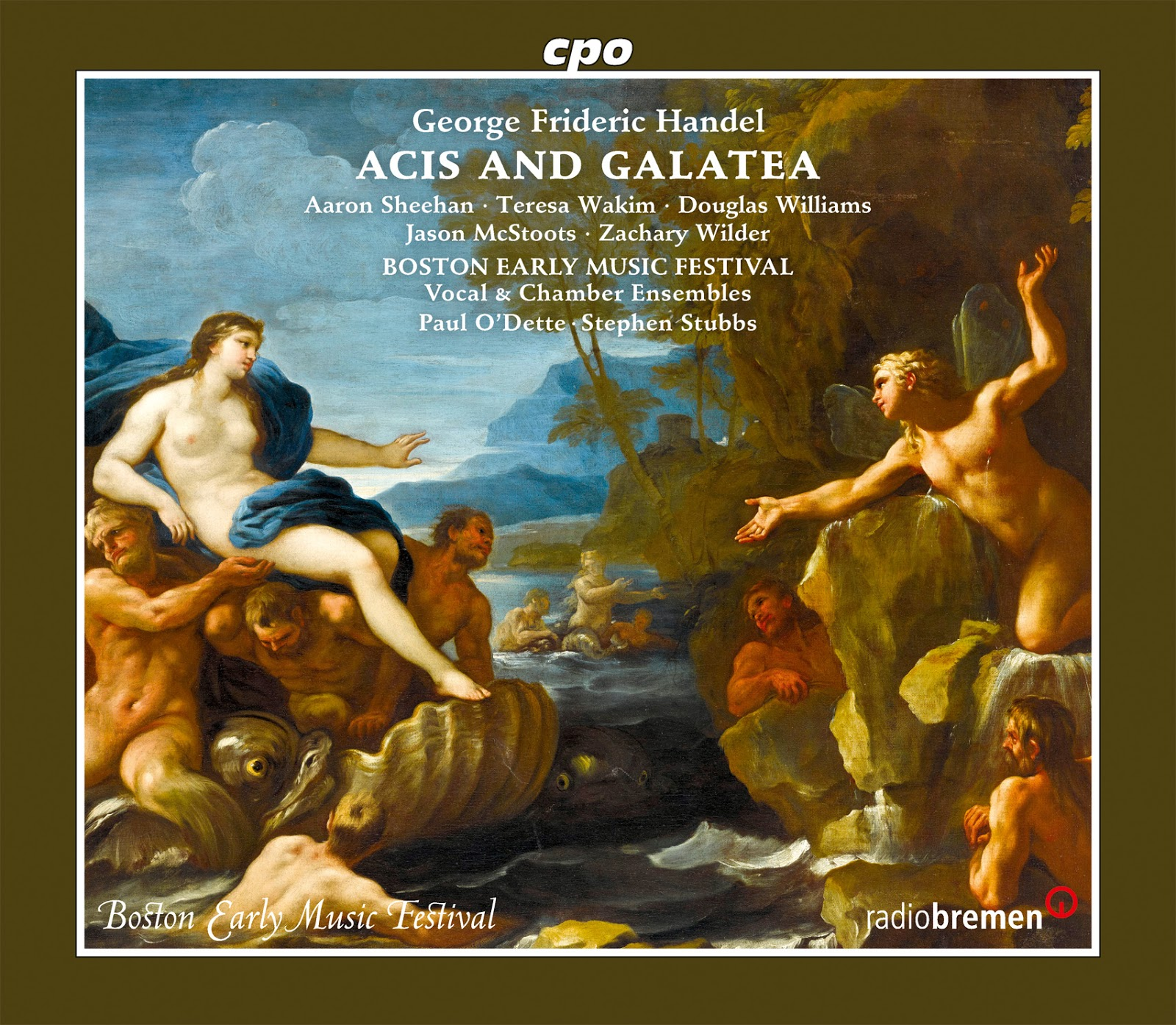 IN REVIEW: Georg Friedrich Händel - ACIS AND GALATEA (cpo 777 877-2)