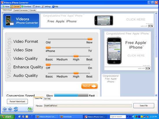 Videora Converter - best media transcoder