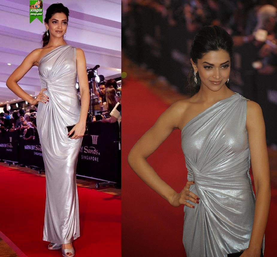 xingin: Deepika Padukone Hot in Skin Thight Dress at Zee ...