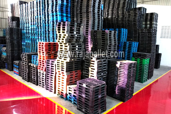 gudang - pallet plastik bekas