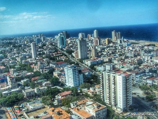 vista desde el último piso del Edificio Focsa, La Habana