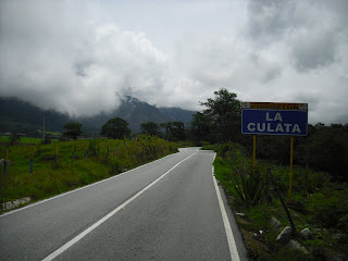 On the road to La Culata