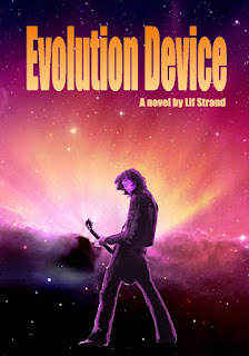 Example cover for the novel Evolution Device