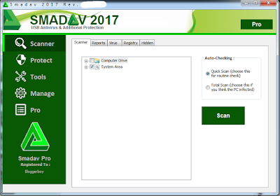 Download Smadav Pro 2017 V 11.3.5 Terbaru Rev Full Keygen Free Pc