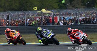 Pembatalan MotoGP Inggris Untungkan Rossi & Marquez. Seri berikutnya di Misano Italia