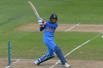स्मृति मंघना, भारतीय महिला क्रिकेट टीम की सदस्य