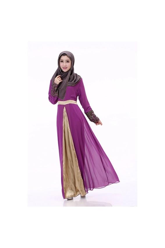 Model Baju Muslim Sifon Modern Terbaru