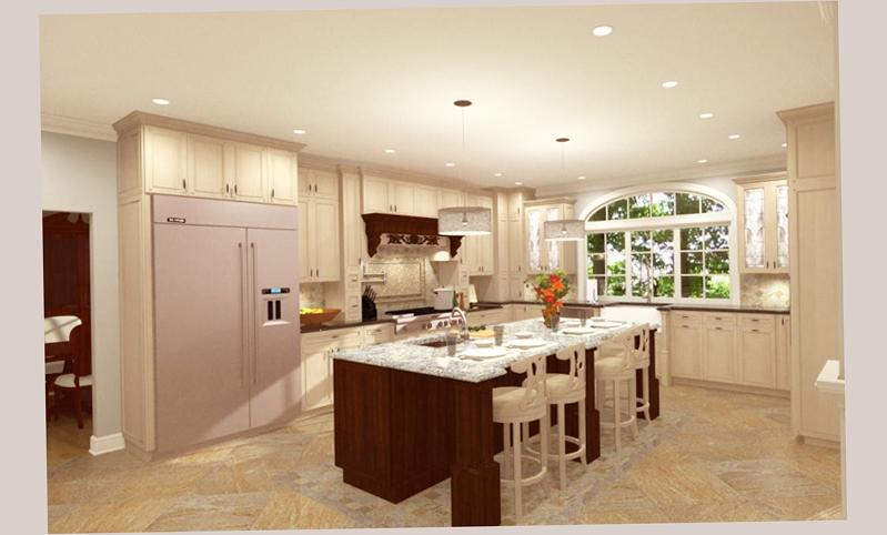 Gourmet kitchen designs latest and best ellecrafts for Gourmet kitchen design