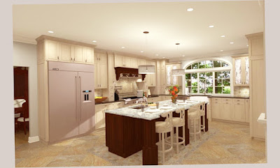Picture Preview for Gourmet Kitchens Ormond Beach for Extensive Room With White Color Wall Elegant
