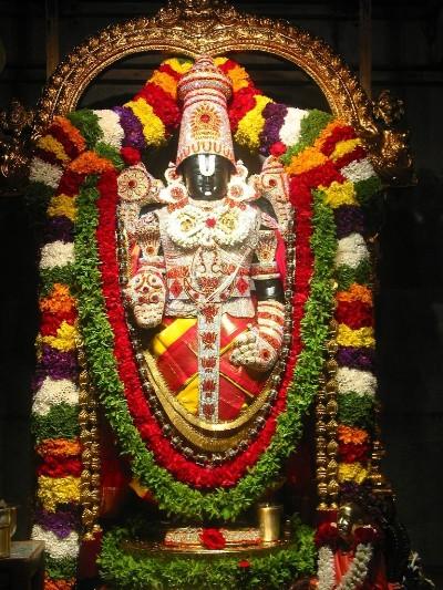 Hindu Goddess tirupati thimmappa image