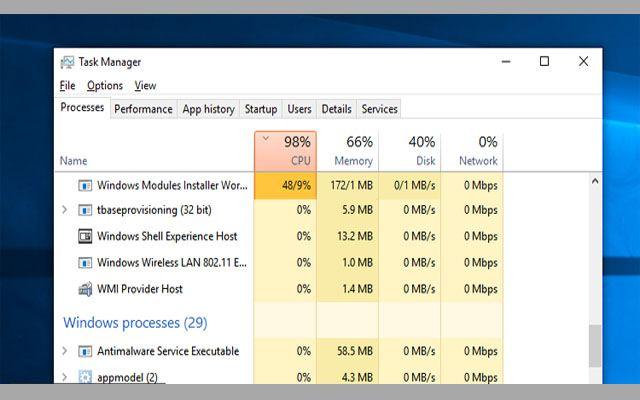 750dfdf2c 2- يجب القيام بإيقاف تحديثات الويندوز Windows Update سبق قبل ذلك وأشارنا  بالأعلى أن عملية Windows Modules Installer تبدأ مع بداية تحديثات الويندوز  ولذلك يجب ...