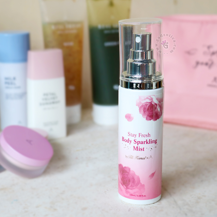 Review Althea Stay Fresh Body Sparkling Mist
