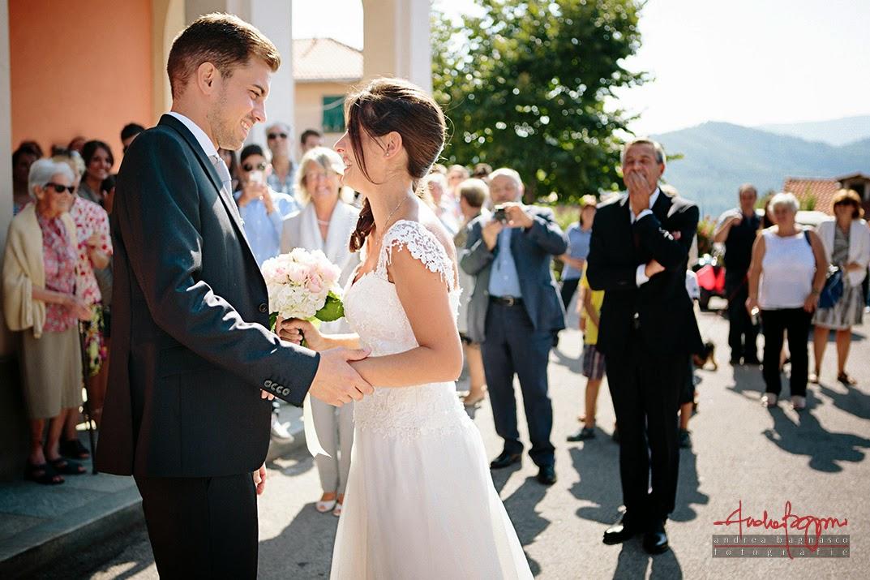 arrivo della sposa matrimonio Savona