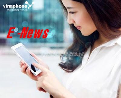 Đăng ký dịch vụ Tin tức Tổng hợp E-News Vinaphone