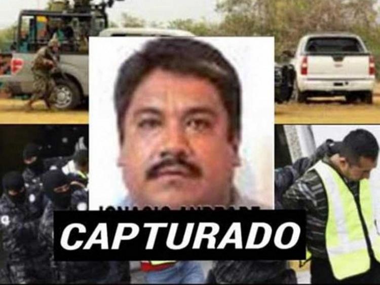 """Reportan captura de """"El Cenizo"""", líder de Caballeros Templarios"""