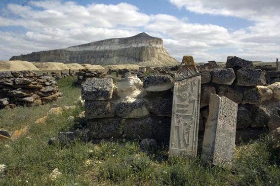 Un site mégalithique au Kazakhstan