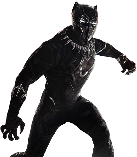 PNG Pantera Negra (Black Panther, Civil War) - PNG World