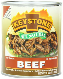 Keystone Meats All Natural Canned Beef, 28 Ounce (Grocery)