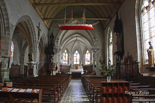 Iglesia de Saint-Sauveur, Auray