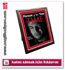 Kişiye Özel Time Dergi Kapağı