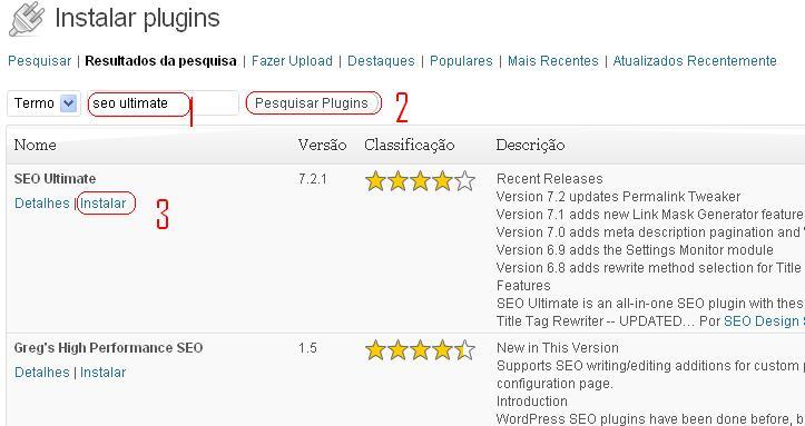 plugins instalar wordpress