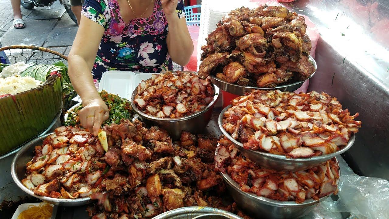 Ngon ngất ngây với Xôi gà Bà Chiểu, Sài Gòn