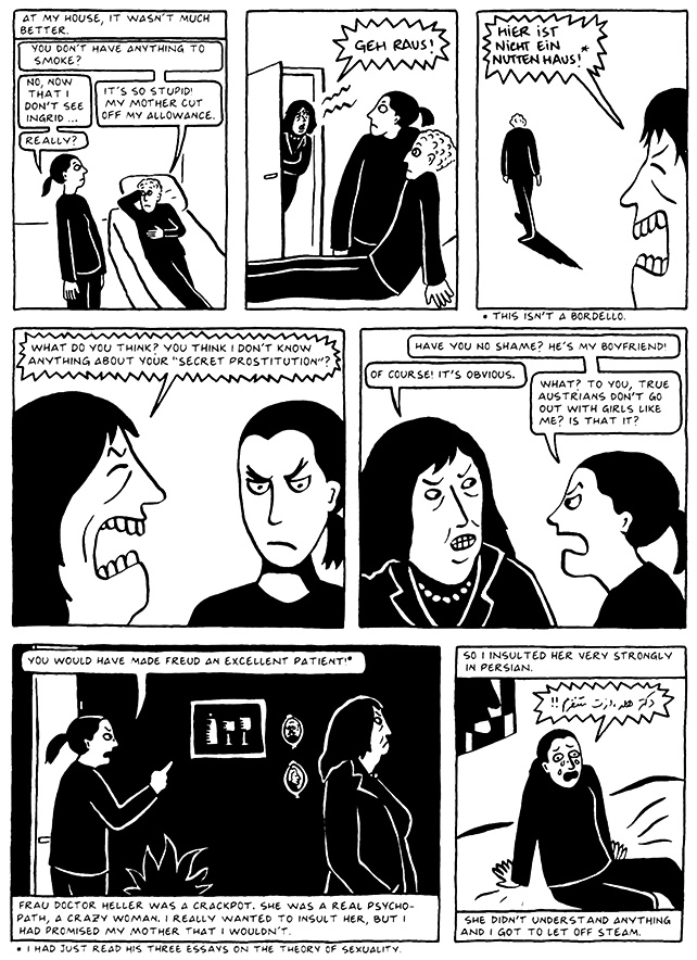 Read Chapter 7 - Hide and Seek, page 67, from Marjane Satrapi's Persepolis 2 - The Story of a Return